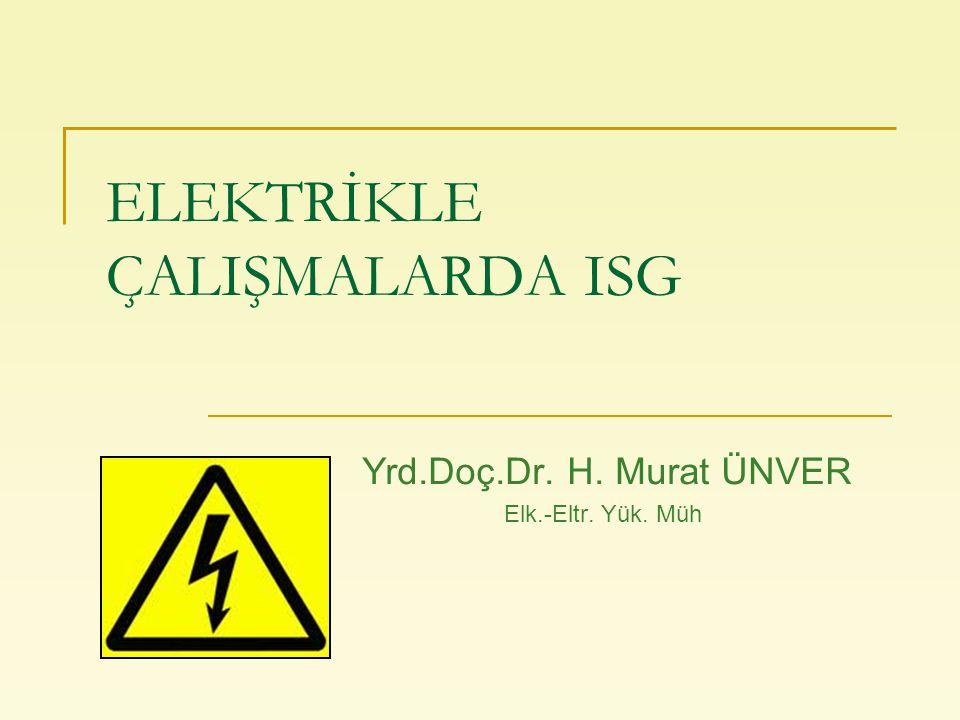ÜNVER Elektrikle Çalışmalarda ISG 2 Sunum Planı  Elektriğin tarihçesi  Elektriğin tanımı  Statik elektrik  Topraklama  Elektrik akımının insan üzerine etkisi  Elektrik kazalarının nedenleri  Elektriğin güvenli kullanımı