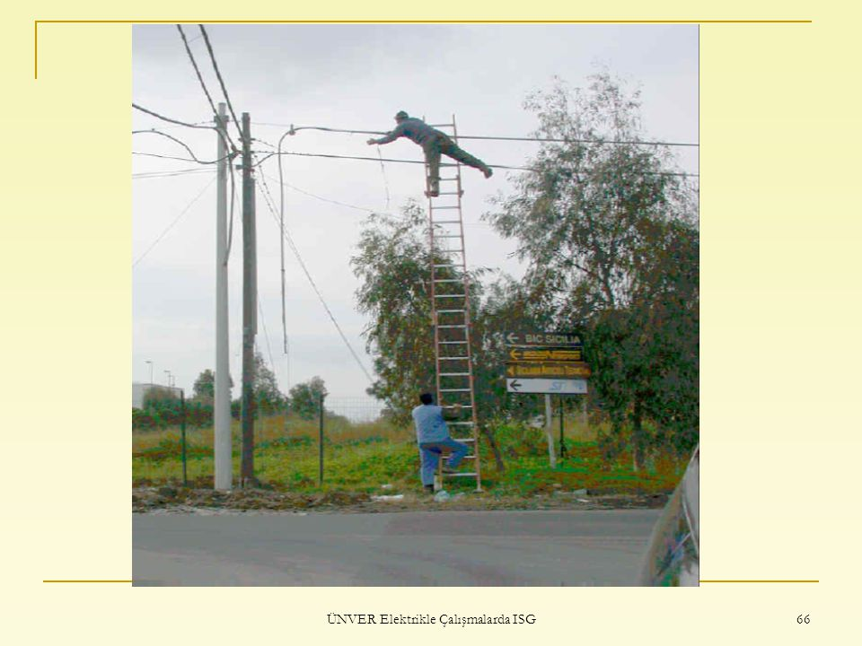 ÜNVER Elektrikle Çalışmalarda ISG 66