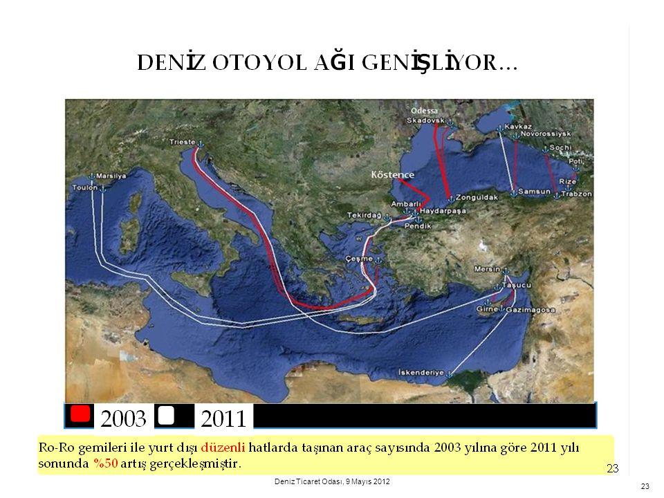 23 Deniz Ticaret Odası, 9 Mayıs 2012