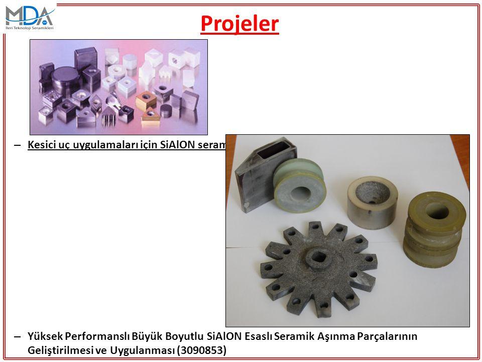 Projeler – Kesici uç uygulamaları için SiAlON seramiklerinin mikroyapı tasarımı (TEYDEB 3040287) – Yüksek Performanslı Büyük Boyutlu SiAlON Esaslı Ser