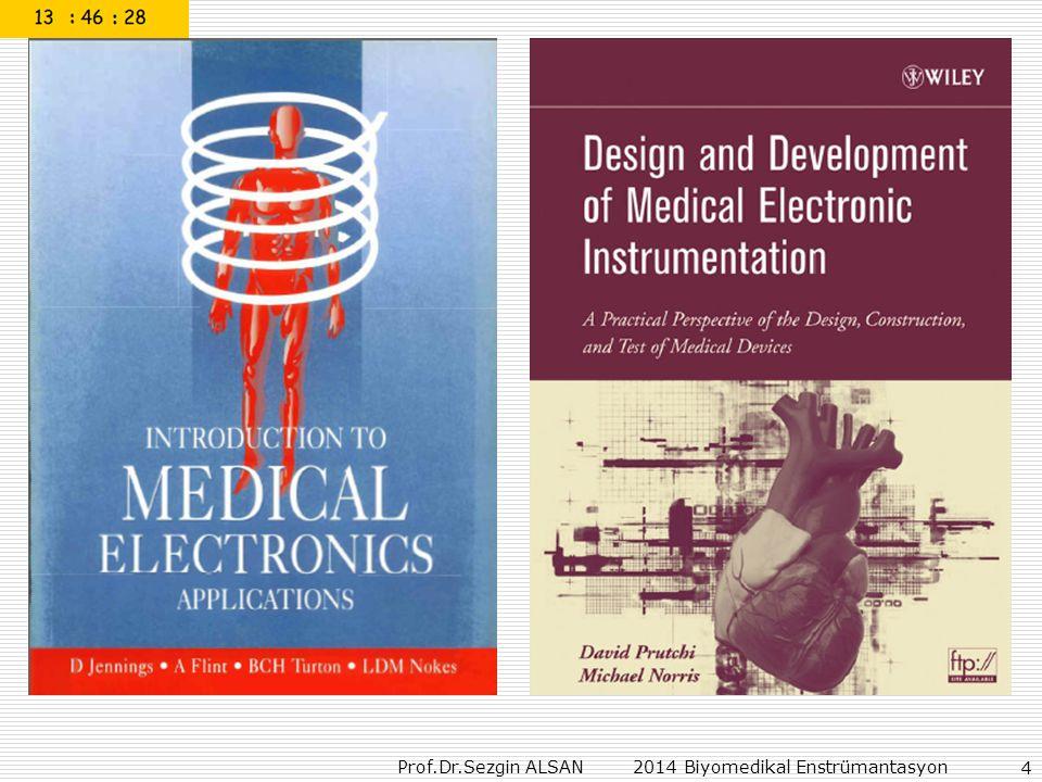 Prof.Dr.Sezgin ALSAN 2014 Biyomedikal Enstrümantasyon 45