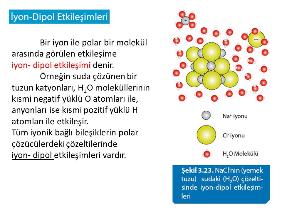 Asal gaz atomları ve apolar moleküller arasında ilk bakışta hiçbir etkileşimin olmaması beklenir.