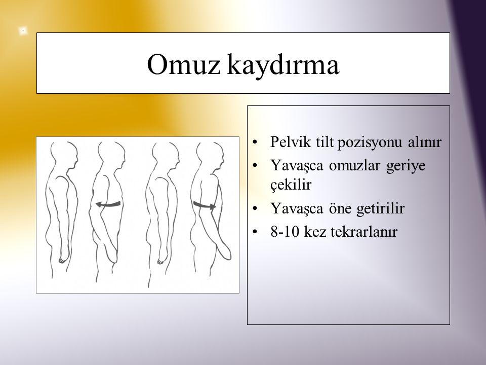 El bileği germe Yumruk yapılır Yavaşca fleksiyon ve ekstansiyona getirilir 8-10 kez tekrarlanır