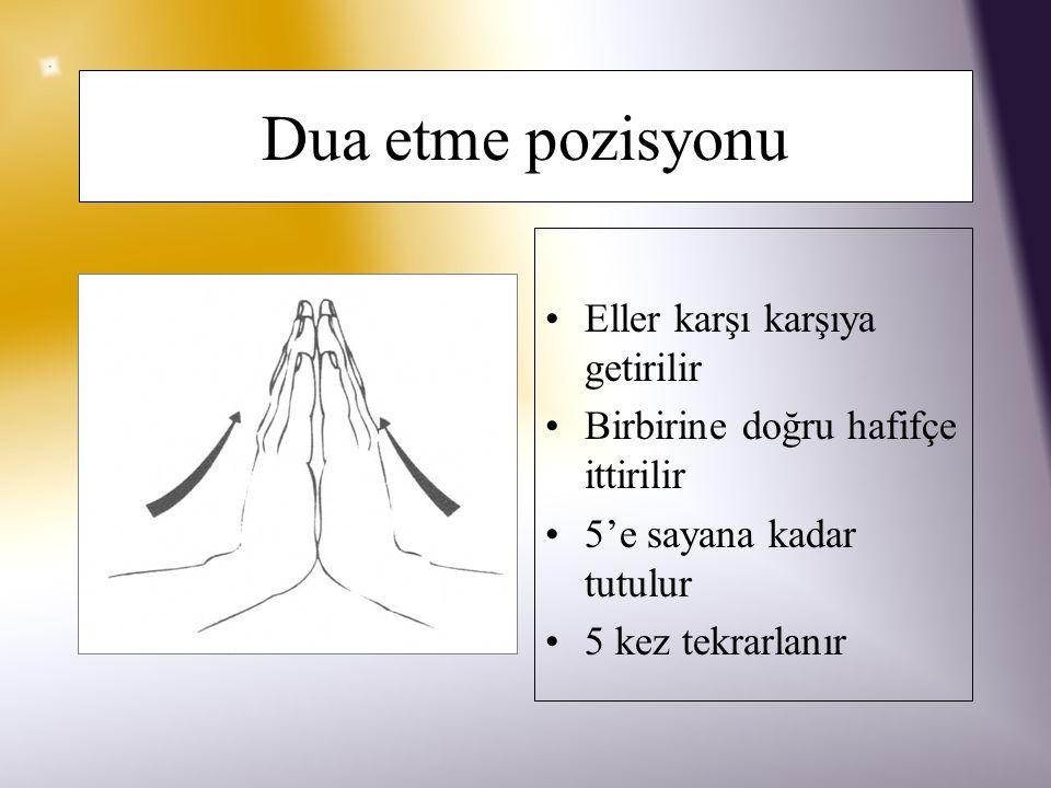 Bilek çevirme 8-10 kez el, bilekten yuvarlaklar yaparak çevrilir Hareket ters yönde tekrarlanır