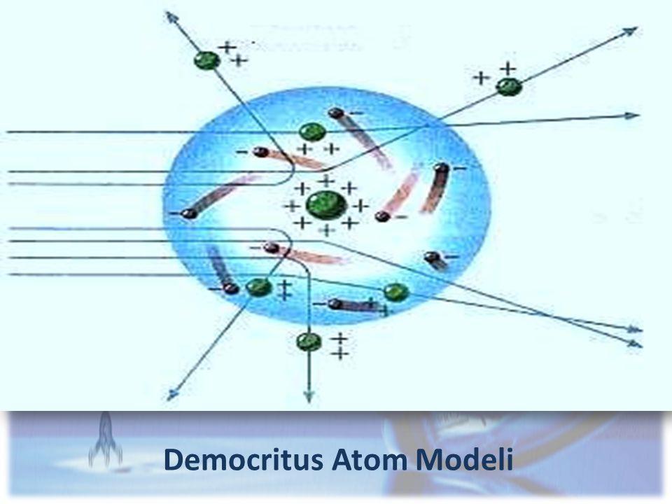 Democritus Atom Modeli