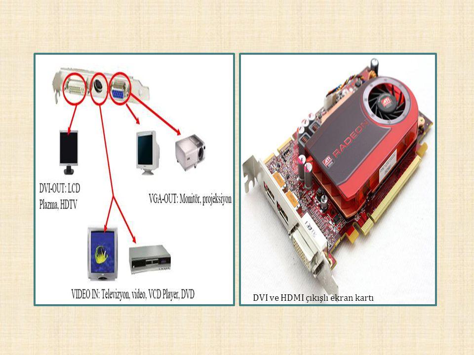 DVI ve HDMI çıkışlı ekran kartı