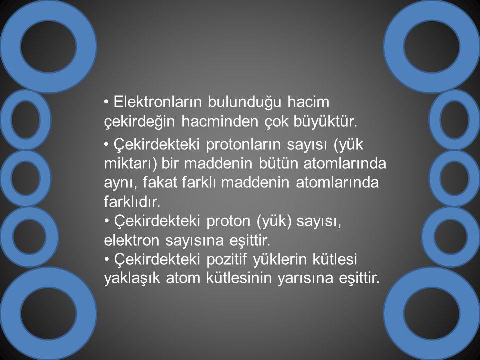 BOHR ATOM MODELİ Bohr atom teorisi hidrojenin yayınma spektrumuna dayanılarak açıklanır.