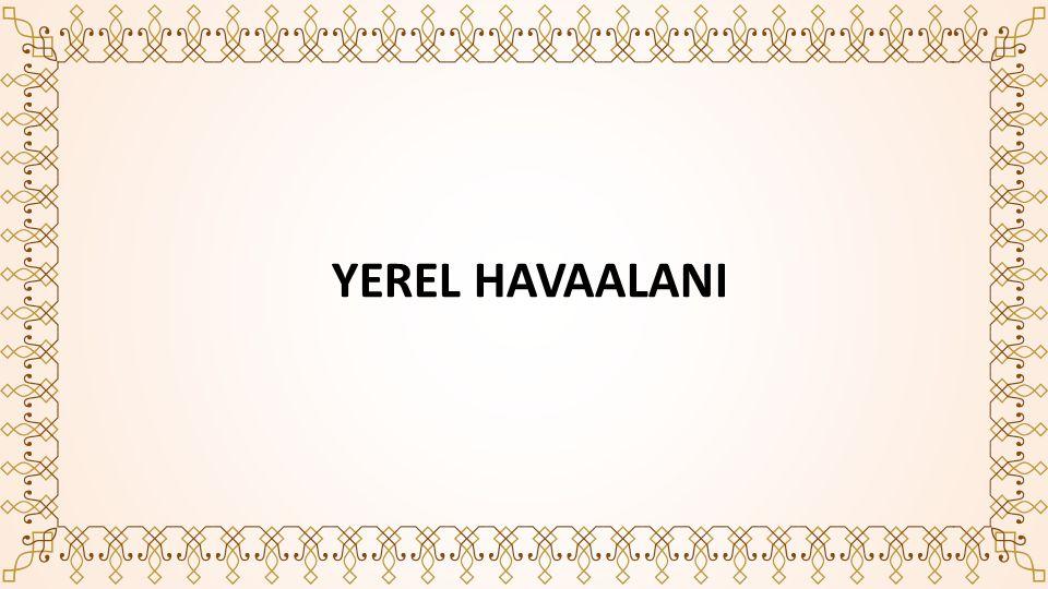 YEREL HAVAALANI