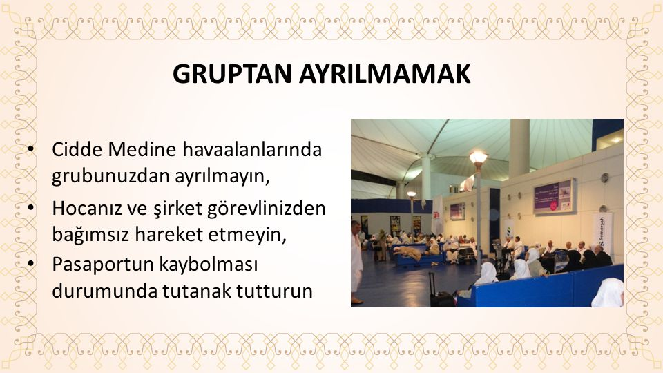 GRUPTAN AYRILMAMAK