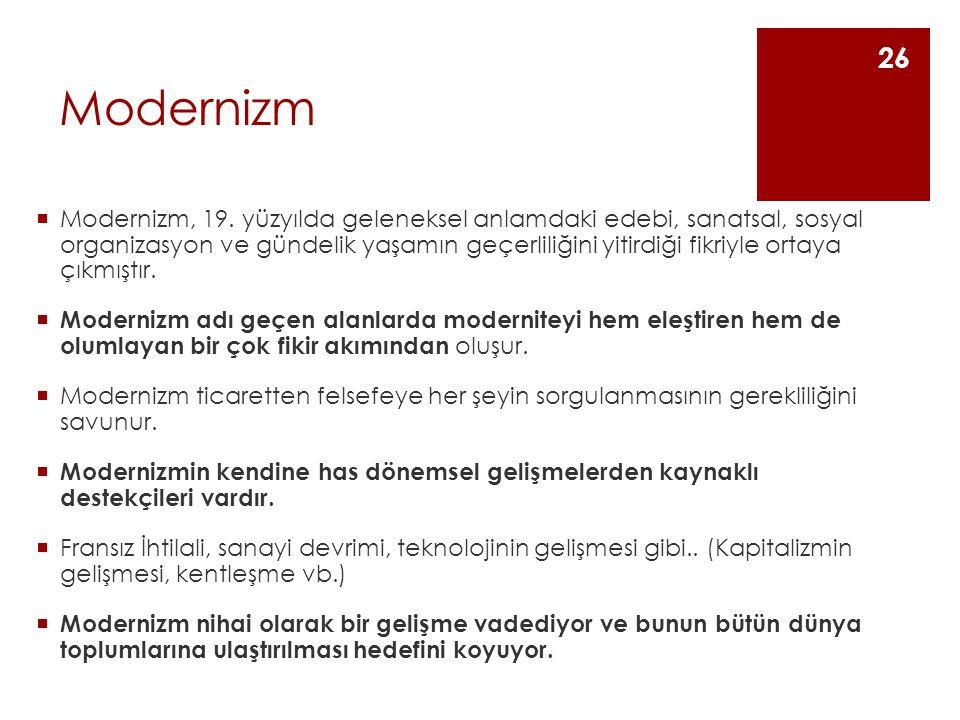 Modernizm  Modernizm, 19.