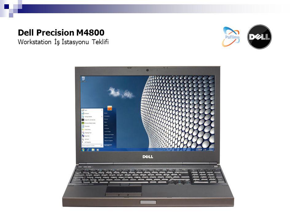 Dell Precision M4800 Workstation İş İstasyonu Teklifi