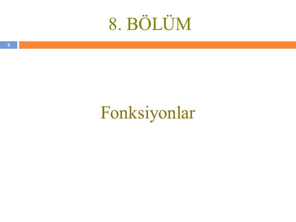 34 KAYNAKLAR N.Ercil Çağıltay ve ark., C DERSİ PROGRAMLAMAYA GİRİŞ, Ada Matbaacılık, ANKARA; 2009.