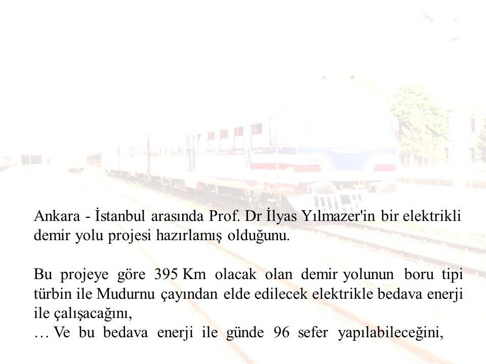 Bu hattın; Ankara - Eskişehir arası için 600 milyon dolarlık bir harcama yapılacağını, Bu projenin hızlı tren ile bir ilgisi olmadığını, aksine hızlı treni engellemek için bir aldatmaca olduğunu,