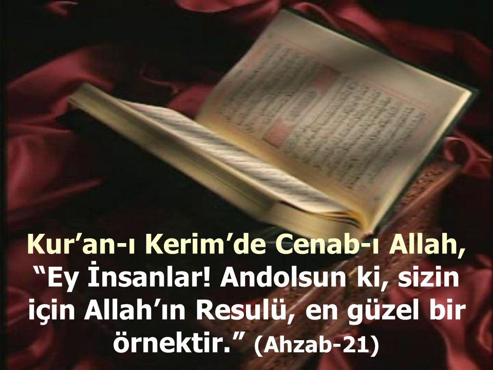 Peygamberimizin Sünneti ve Davranışlarından Örnekler: