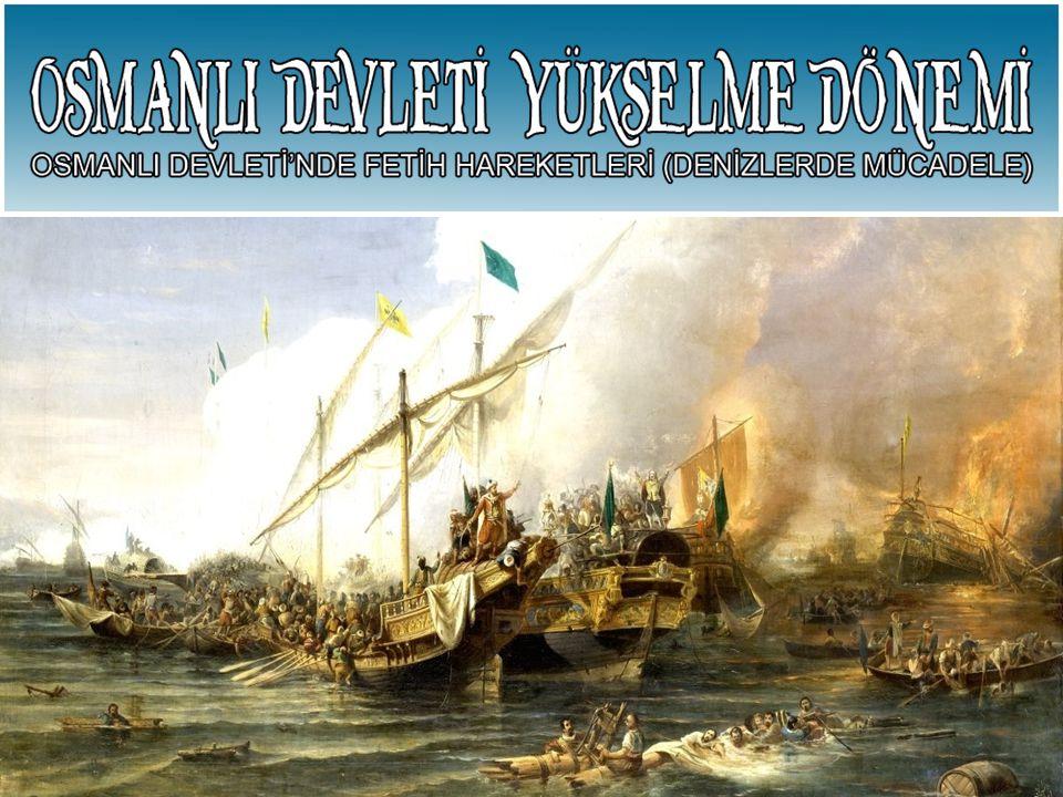 Preveze Deniz Savaşı'nın Kazanılması 1538 – Preveze Deniz Savaşı'nın Kazanılması Bir Türk Denizi haline gelmiştir.