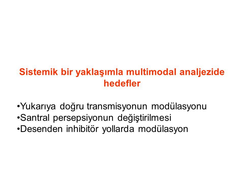 Üçlü birliktelikler NSAİİ – Opiat - Tca NSAİİ – Parasetamol –Tca Gabapentinoid – Opiat – Tca Gabapentinoid – parasetamol – Tca NSAİİ – Tramadol Gabapentinoid - Tramadol
