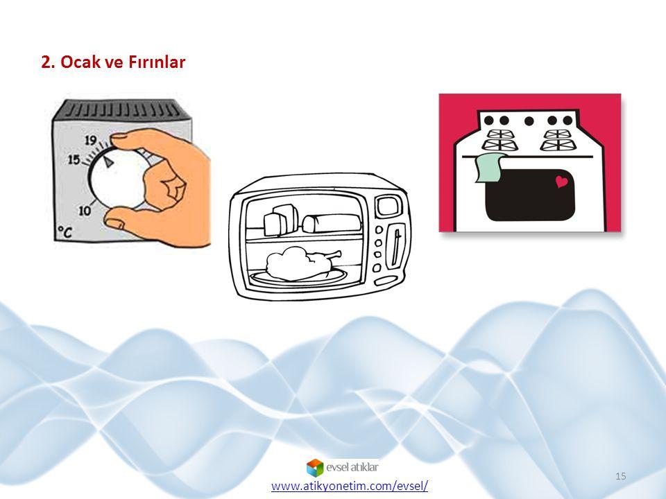 2. Ocak ve Fırınlar 15 www.atikyonetim.com/evsel/