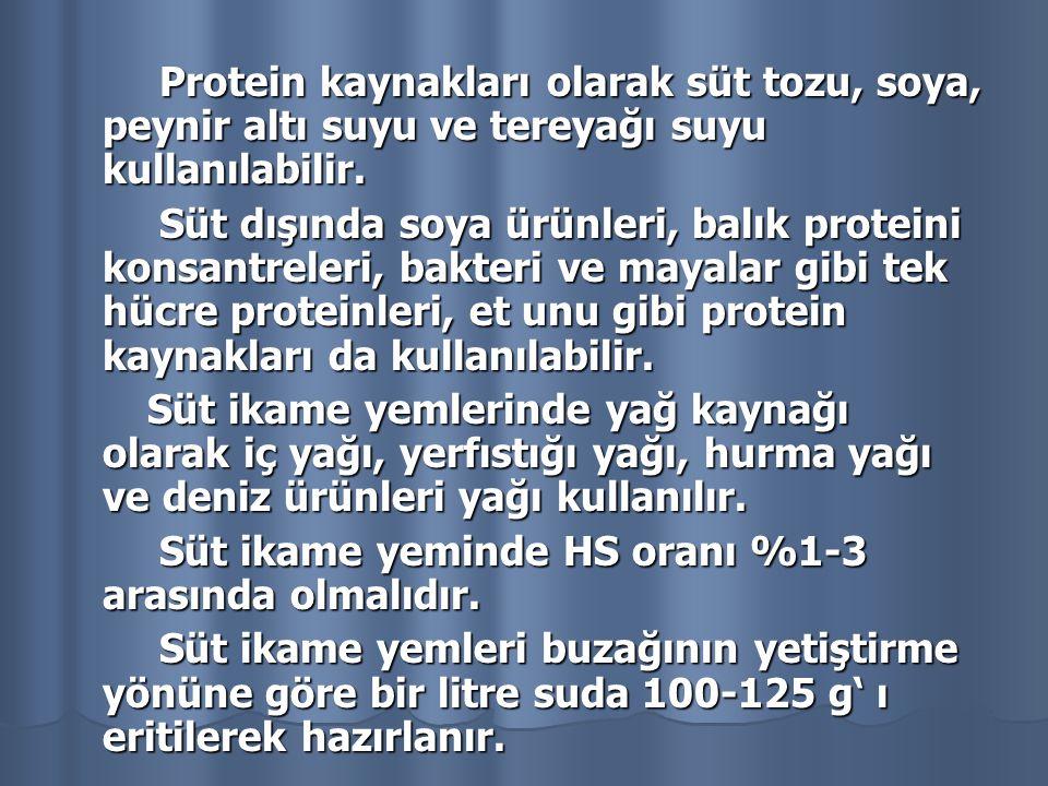 İÇERİK ORAN\MİKTAR HER KİLOGRAM MAMADAKİ VİTAMİN HER KİLOGRAM MAMADAKİ VİTAMİN Ham Protein (en az) % 20 Vitamin A 30.000 IU Ham Yağ % 14 Vitamin D3 (en az) 2.000 IU Ham Kül (en çok) % 10 Vitamin E 100 mg/kg Ham Selüloz (en çok) % 1 Vitamin K3 6 mg Nem (en çok) % 3,5 Vitamin C 250 mg Laktoz % 36 Vitamin B1 20 mg Kalsiyum (en az) % 0,7 Vitamin B2 20 mg Fosfor (en az) % 0,85 Vitamin B6 8 mg Magnezyum % 0,08 Vitamin B 12 80 mcg Demir 50 ppm 50 ppm Kobalt 0,5 ppm Metabolik Enerji Metabolik Enerji 4315 kcal/kg 4315 kcal/kg Selenyum 0,3 ppm Çinko (en az) 40 ppm İyot 4,0 ppm Bakır 15 ppm Mangan (en az) Mangan (en az) 8 mg/kg Sodyum % 0,6 Hidroklorik Asit te çözünmeyen kül Hidroklorik Asit te çözünmeyen kül % 1 Sodyum klorür Sodyum klorür % 1 Piyasada bulunan bir mamanın içerik analizi