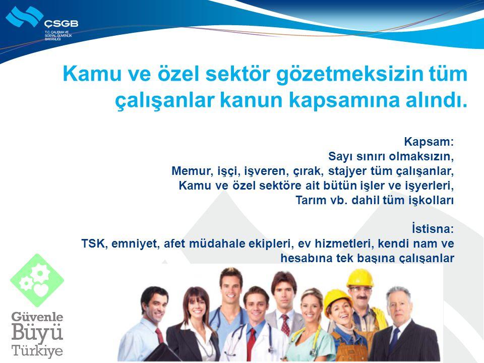 Birden fazla işverenin olduğu yerlerde, iş sağlığı ve güvenliği konusunda koordinasyon sağlanacak.