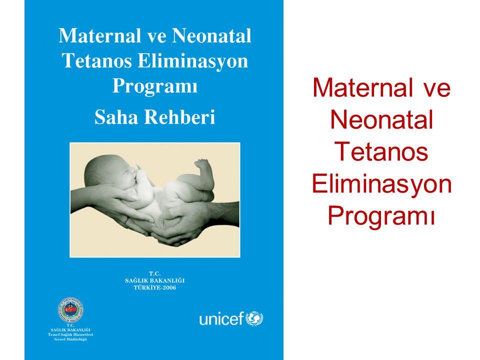 Maternal ve Neonatal Tetanos Eliminasyon Programı