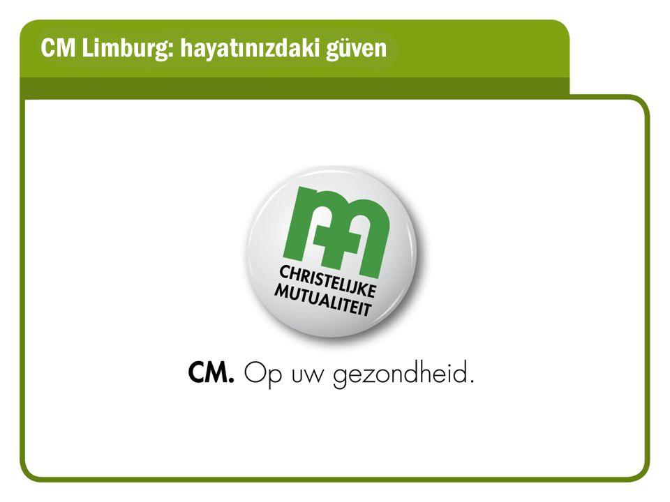 CM Limburg: hayatınızdaki güven