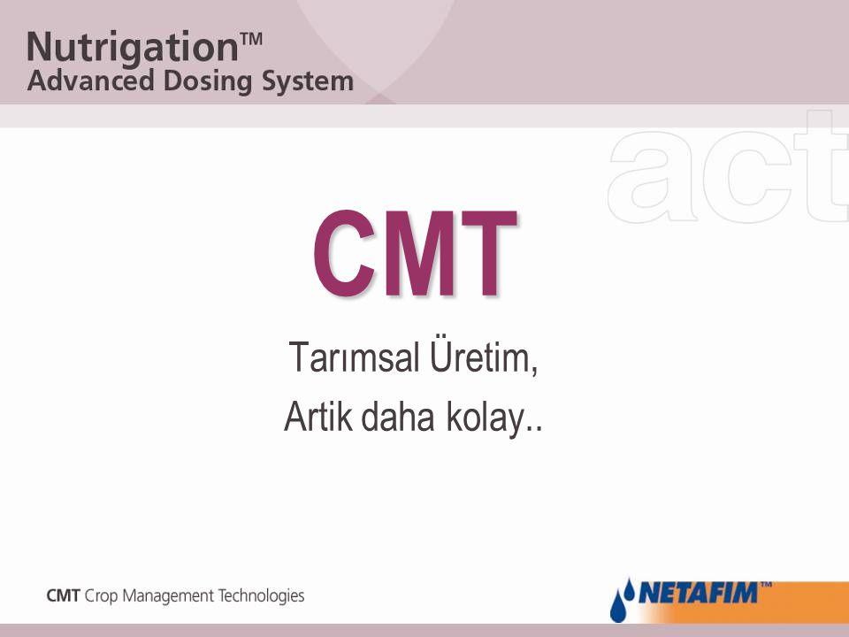 CMT Tarımsal Üretim, Artik daha kolay..
