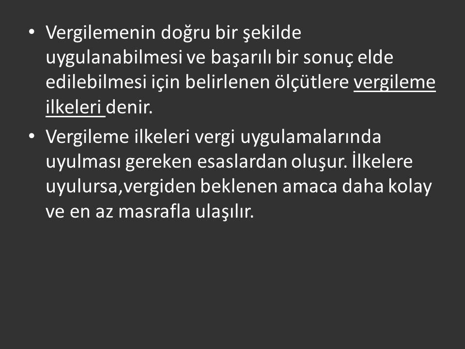 İstanbul Ticaret Odası'nın araştırmasına göre: Türk vergi sisteminde servet, tüketim ve dış ticaret başlıkları altında alınan vergi sayısının 16 yı bulması mükellefi vergiden kaçınmaya iten önemli nedenler arasında.