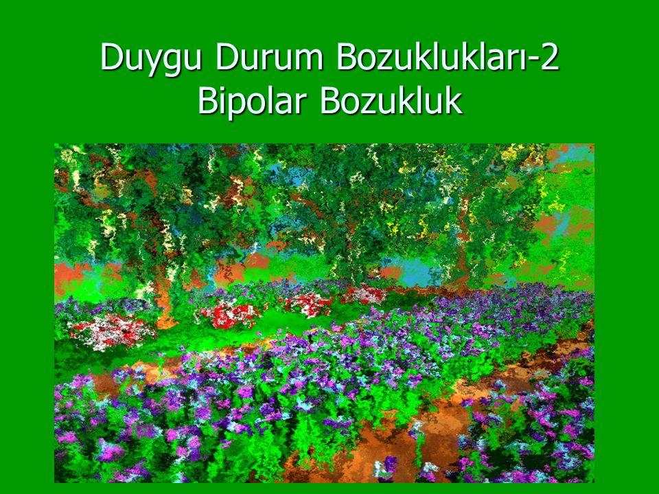 Duygu Durum Bozuklukları-2 Bipolar Bozukluk