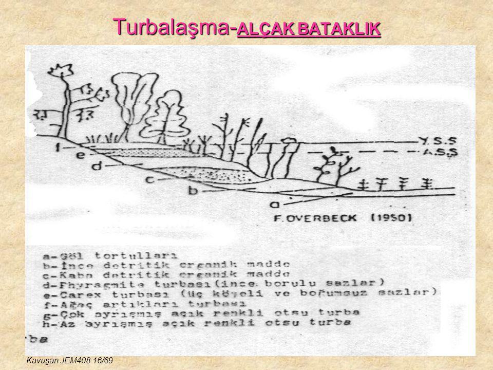 Turbalaşma- ALÇAK BATAKLIK Kavuşan JEM408 16/69