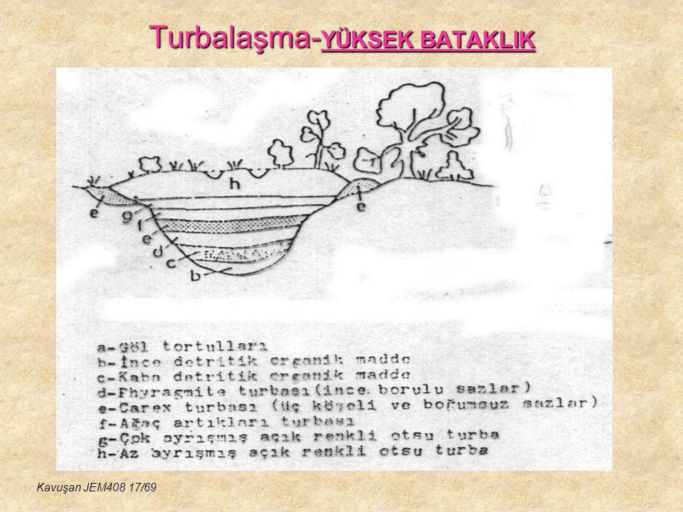 Turbalaşma- YÜKSEK BATAKLIK Kavuşan JEM408 17/69