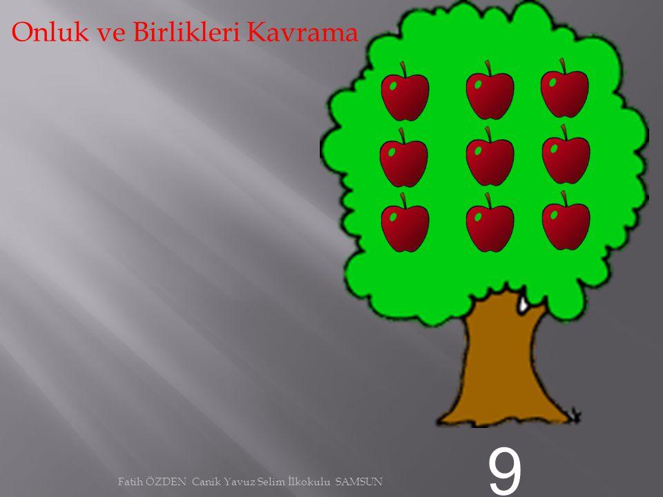 8 Onluk ve Birlikleri Kavrama Fatih ÖZDEN Canik Yavuz Selim İlkokulu SAMSUN