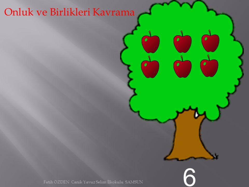 5 Onluk ve Birlikleri Kavrama Fatih ÖZDEN Canik Yavuz Selim İlkokulu SAMSUN