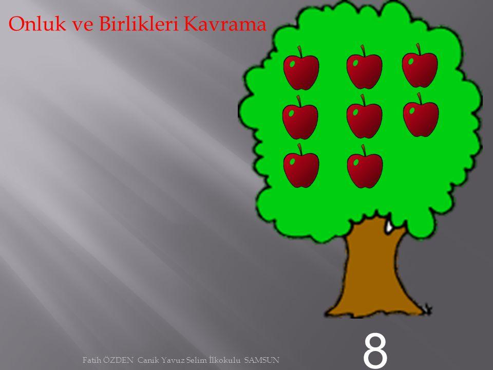 7 Onluk ve Birlikleri Kavrama Fatih ÖZDEN Canik Yavuz Selim İlkokulu SAMSUN