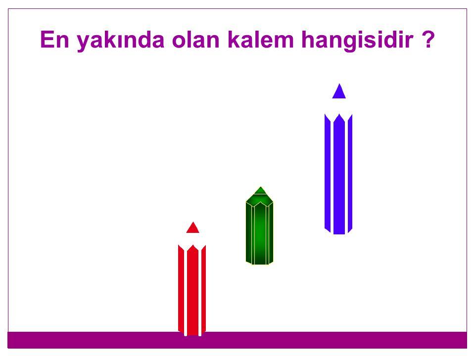 En yüksekte olan balon hangisidir ?