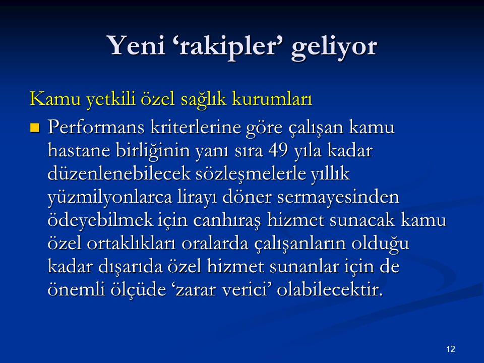 13 Sağlık kampüsleri: KAMU ÖZEL ORTAKLIĞI Değeri 20.000.000 Türk Lirasına kadar olanlar bakımından Bakan; bu miktarın üzerindekiler bakımından Yüksek Planlama Kurulu tarafından yapılmasının gerekli olduğuna karar verilen tesisler ve işler, Bakanlıkça verilecek ön proje ve belirlenecek temel standartlar çerçevesinde, kendisine veya Hazineye ait taşınmazlar üzerinde ihale ile belirlenecek gerçek veya özel hukuk tüzel kişilerine kırkdokuz yılı geçmemek şartıyla belirli süre ve bedel üzerinden kiralama karşılığı yaptırılabilir.