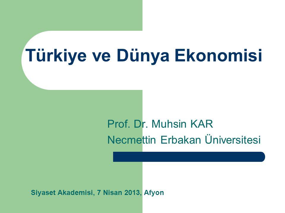 Sunum Planı Küresel Ekonominin Yapı Taşları Genel Görünüm ve Küresel Durgunluk Türkiye ekonomisi – Dönüşüm dinamikleri – Riskler Yeni Türkiye'nin gündemi