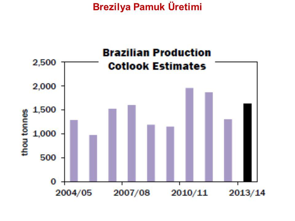 Brezilya Pamuk Üretimi