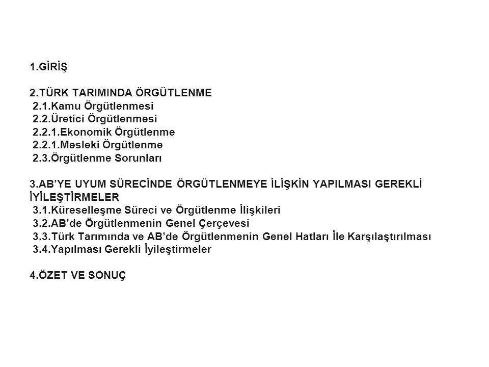 13 3.3.Sendikalar Ülkemizde TÜRK-İŞ ve HAK-İŞ'e bağlı tarım ve orman işçileri sendikaları mevcuttur.