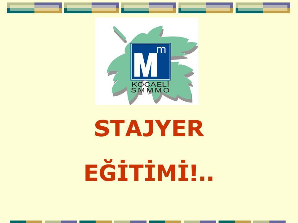 ZORUNLU EĞİTİM E-USE TESMER Temel Eğitim ve Staj Merkezi Ankara tarafından uygulanmakta olup, http://teosweb.tesmer.org.tr SUSEV3 alanından giriş yapılarak E-USE uzaktan sürekli eğitim alanının tarafınızdan takip edilmesi gerekmektedir.