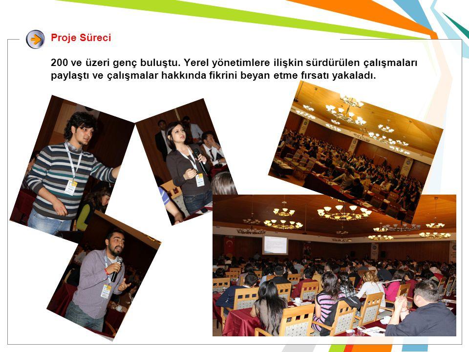 Projenin uygulama süreci öncesinde Türkiye genelinde gençlere uygulanan anket sonuçları her gün belli başlıklar altında katılımcılar ile paylaşıldı.
