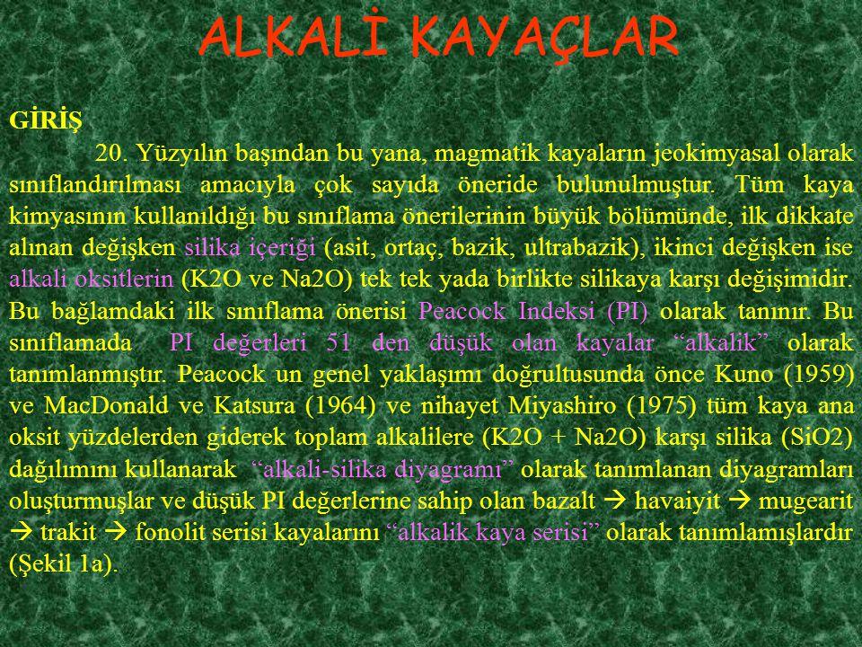 ALKALİ KAYAÇLAR GİRİŞ 20.