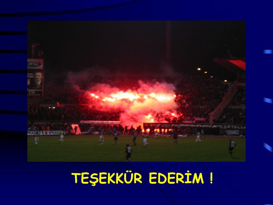 TEŞEKKÜR EDERİM !