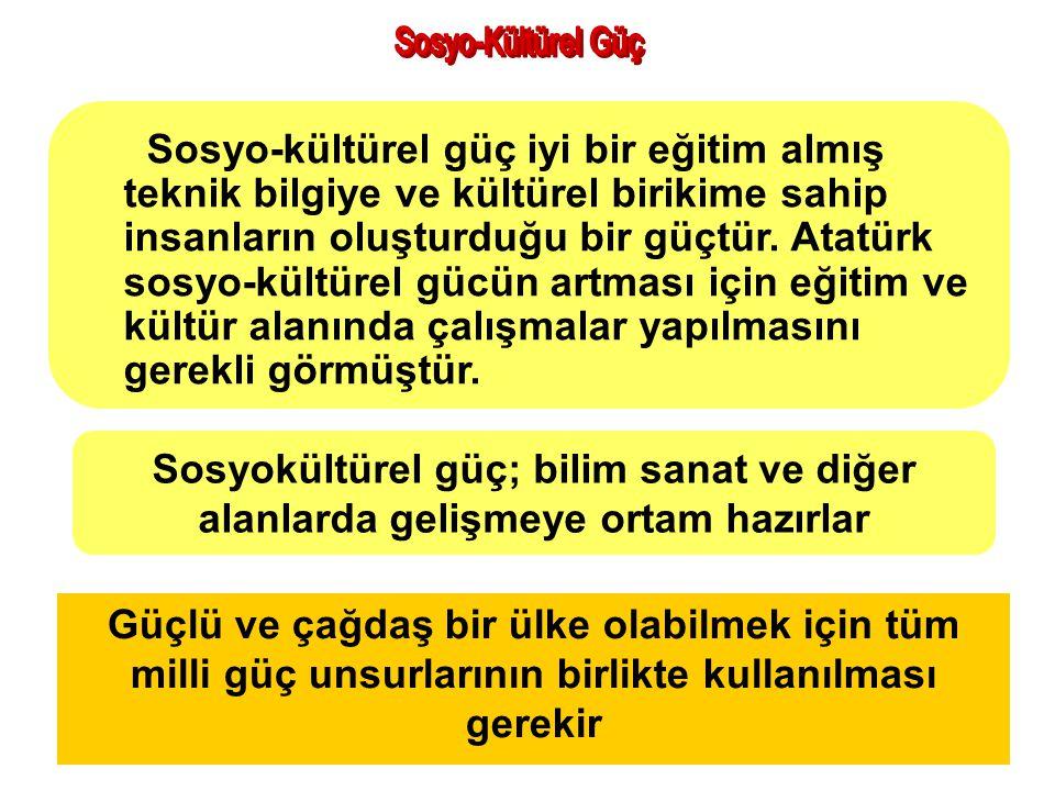 Atatürk döneminde siyasi gücü güçlendirmek için neler yapıldı? TBMM açıldı 1 Egemenliği halka veren anayasa hazırlandı 2 Yeni Türk devletinin varlığı