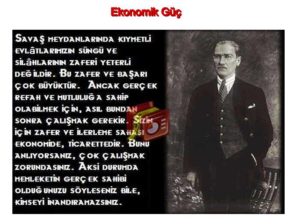 Atatürk askeri gücü geliştirmek için neler yapmıştı? Kuvai Milliye birliklerini kaldırarak düzenli orduya geçiş yaptı Erkan-ı Harbiye Bakanlığı yerine