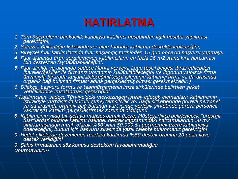 PAZAR ARAŞTIRMASI VE PAZARA GİRİŞ DESTEĞİ (2011/1 Tebliğ) Yetkili Kuruluş : T.C.