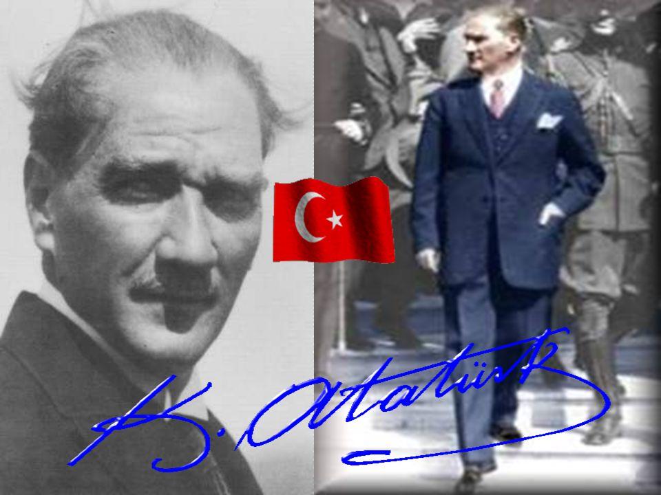 ATATÜRKÇÜLÜKTE DEVLETİN DİNAMİK İDEALİ Türk Devleti kişileri ile milleti ile kurumları ile dinamik hedeflere doğru yürüyen dinamik bir varlıktır.