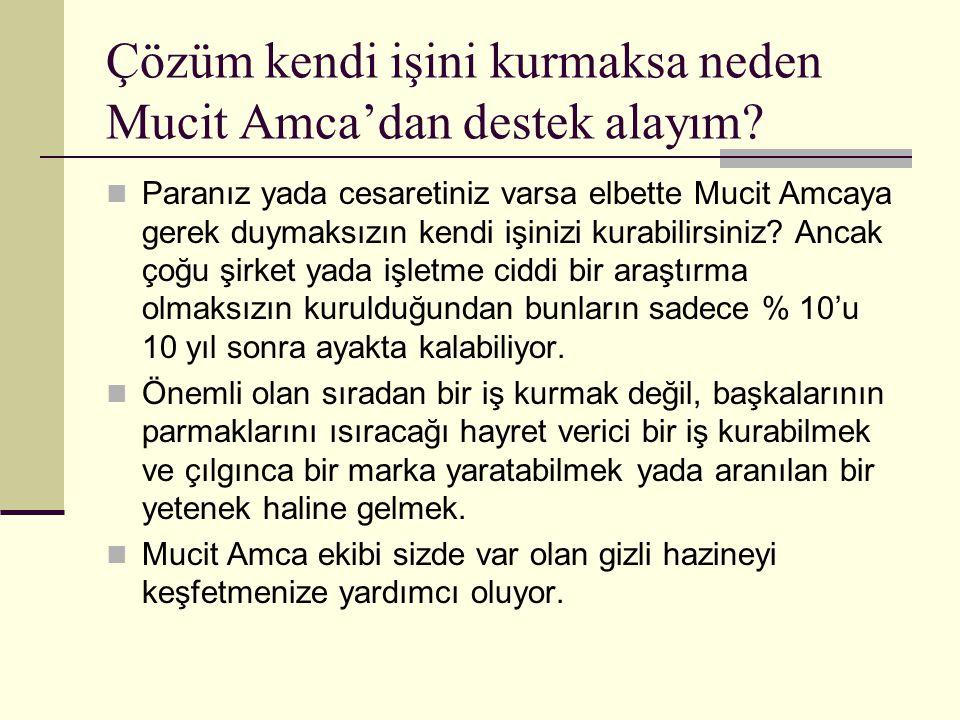 Çözüm kendi işini kurmaksa neden Mucit Amca'dan destek alayım.