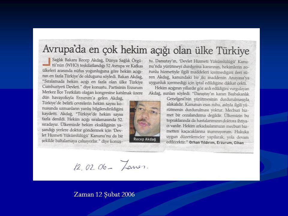 Zaman 12 Şubat 2006