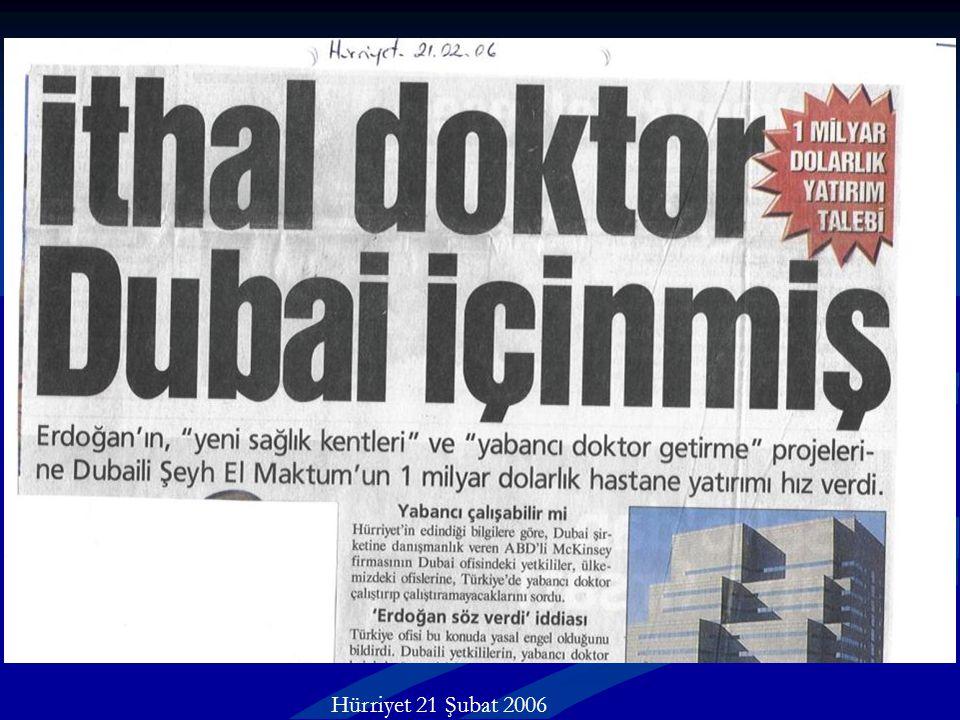 Hürriyet 21 Şubat 2006