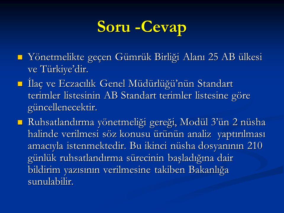 Soru -Cevap Yönetmelikte geçen Gümrük Birliği Alanı 25 AB ülkesi ve Türkiye'dir. Yönetmelikte geçen Gümrük Birliği Alanı 25 AB ülkesi ve Türkiye'dir.